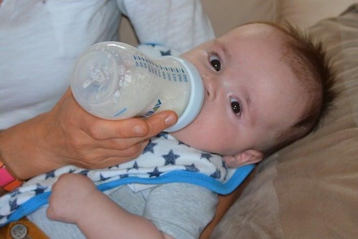 La règle d'Appert pour doser le lait bébé
